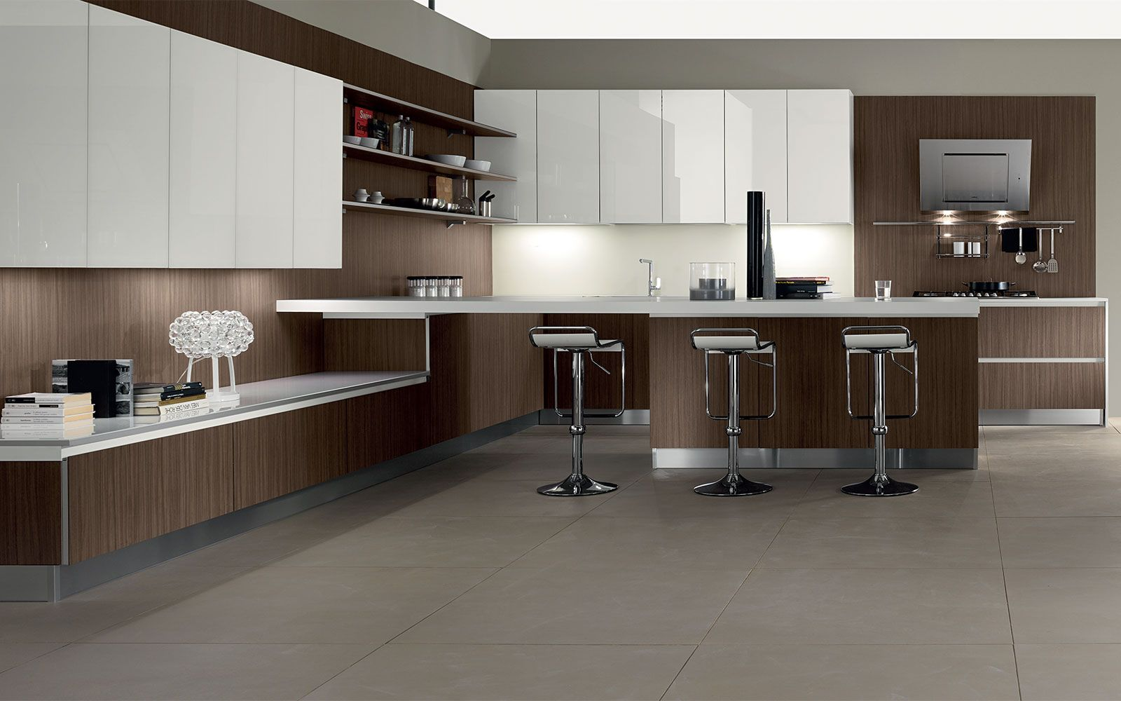 Modern kitchens, kitchens made in italy, quality kitchens, MobilTuri ...