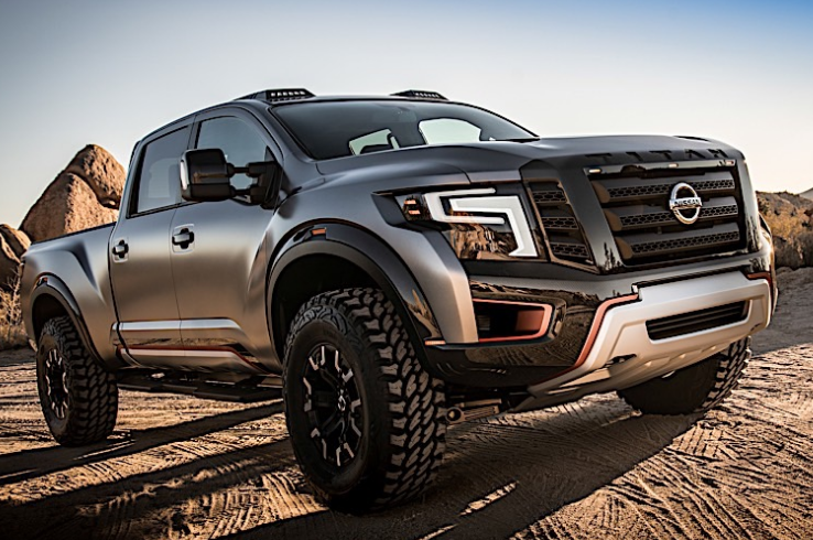 2020 Nissan Titan Warrior Concept, Interior and Release ...