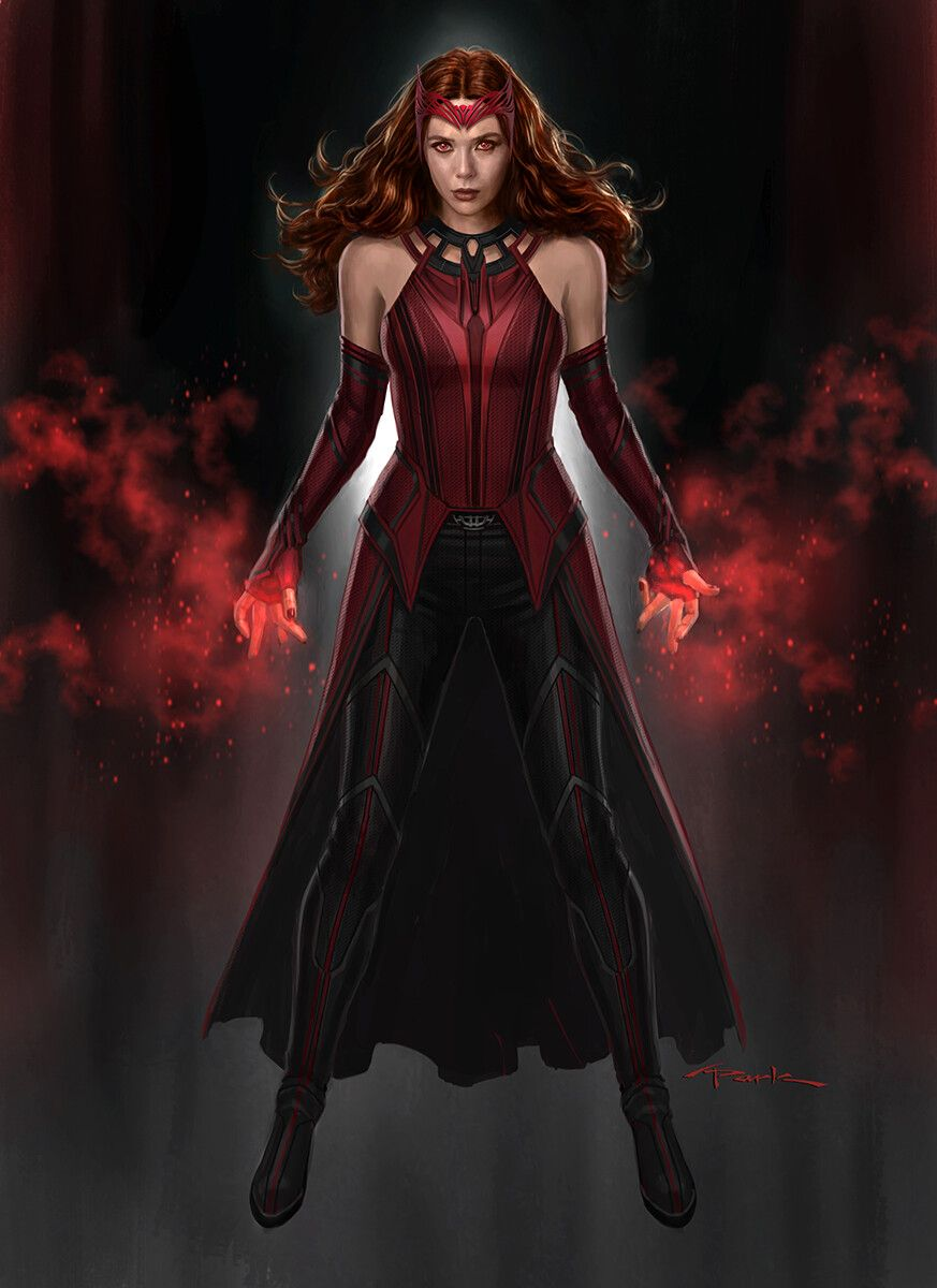 Scarlet Witch in WandaVision, Andy Park