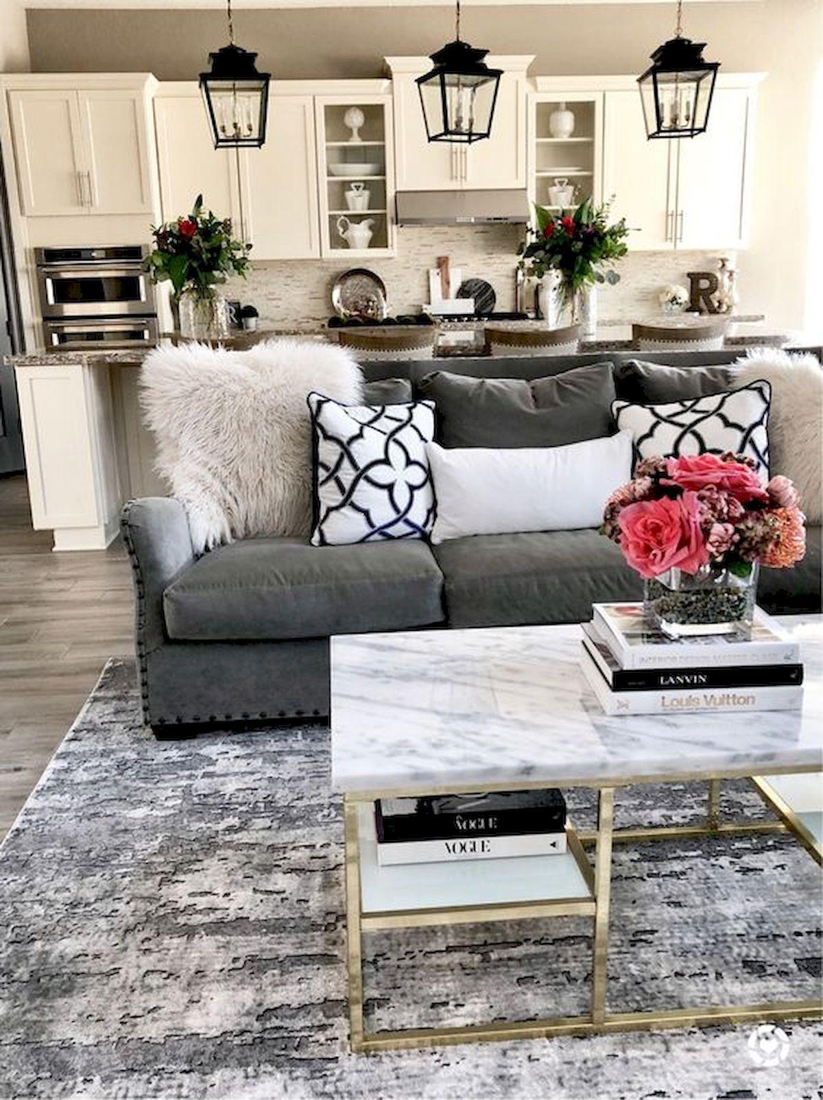 33 Inspiring Modern Farmhouse Rugs Decor Ideas And Design33decor Living Room Sofa Design Farm House Living Room Living Room Grey