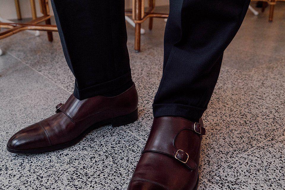 Nouveaux produits c211b 49d98 Pantalon AD Studio Ezra : Test & Avis | Monk Straps | Style ...