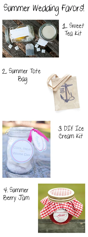 fun summer wedding favor ideas, totally doing the sweet tea one ...
