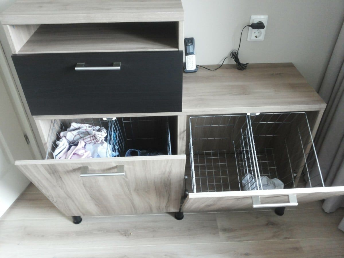 Besta tilt out hamper - IKEA Hackers