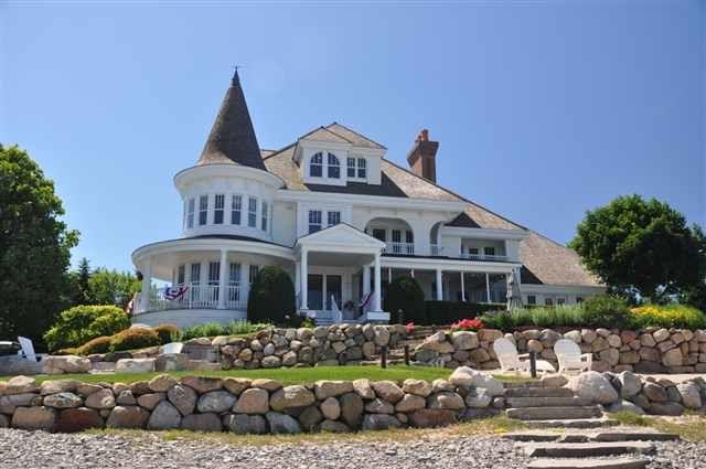 Victorian home located at: 3810 Peninsula Drive 3830 Peninsula Drive, Bay Harbor Michigan