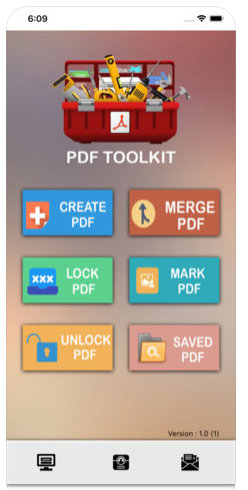 Free and easy to use complete PDF toolkit with functions