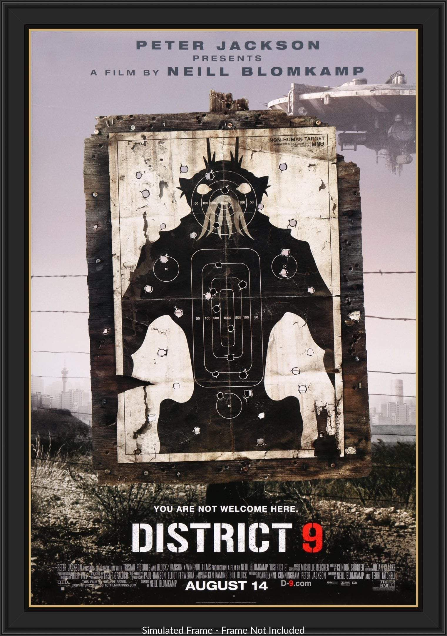 District 9 2009 In 2020 Movie Posters Movie Poster Art Neill Blomkamp