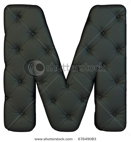 M black leather