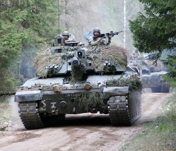 4cd5c9ca9485 Challenger 2 British Army MBT