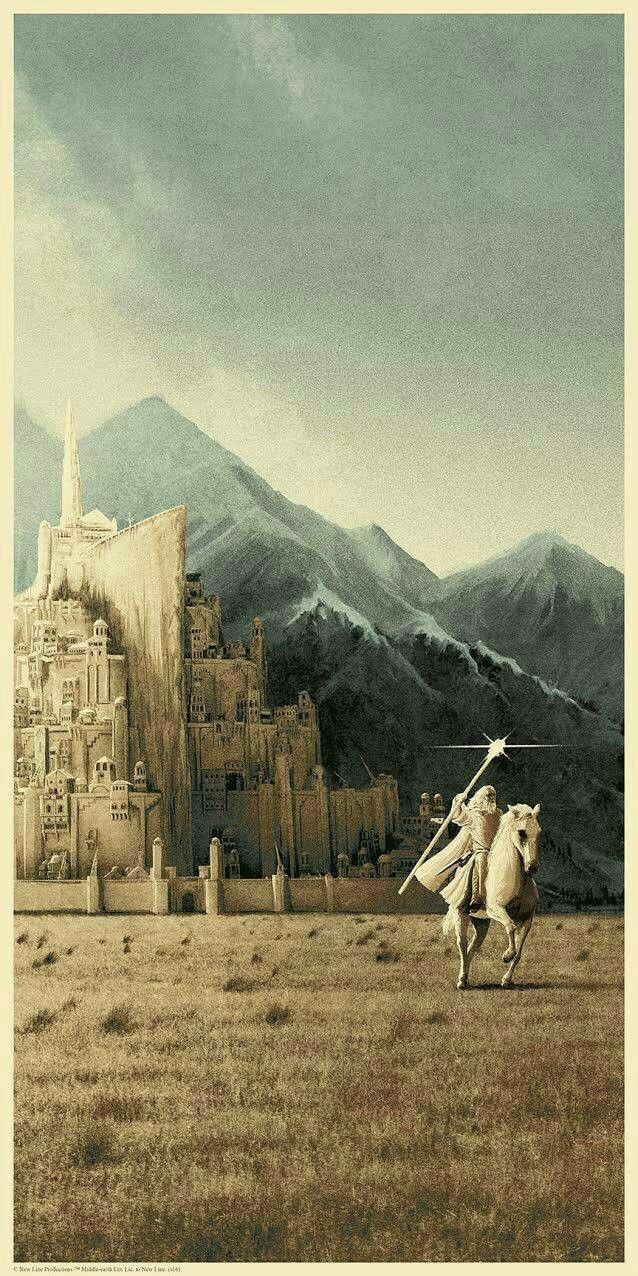 Minas Tirith Wallpapers El Señor De Los Anillos