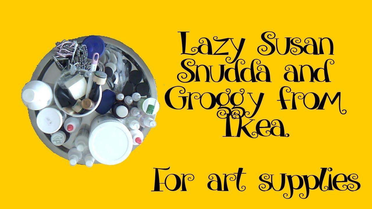 Ikea Snudda and Groggy for art supplies (SHORT)  669414648ed