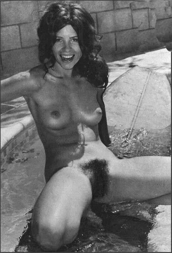 Woman Nude hairy vintage