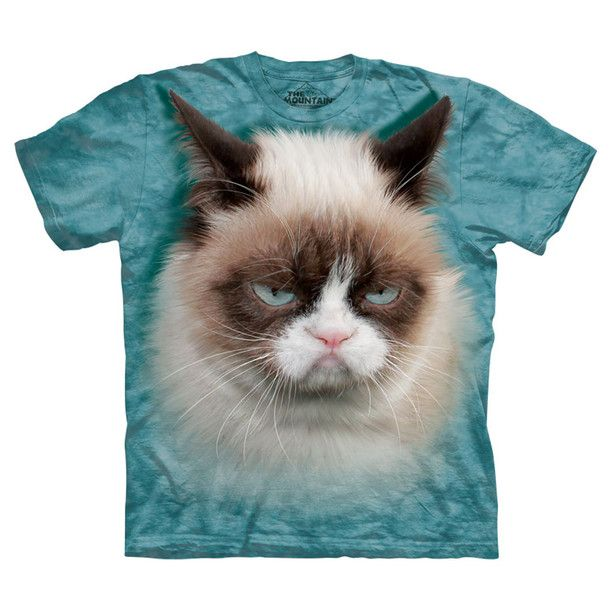 Grumpy Cat Tee Unisex by The Mountain