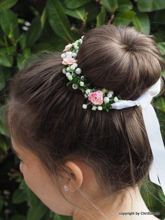 Communion Wreaths Hair Jewelry | Kommunion frisur mädchen, Kinderfrisuren, Erstkommunion frisur