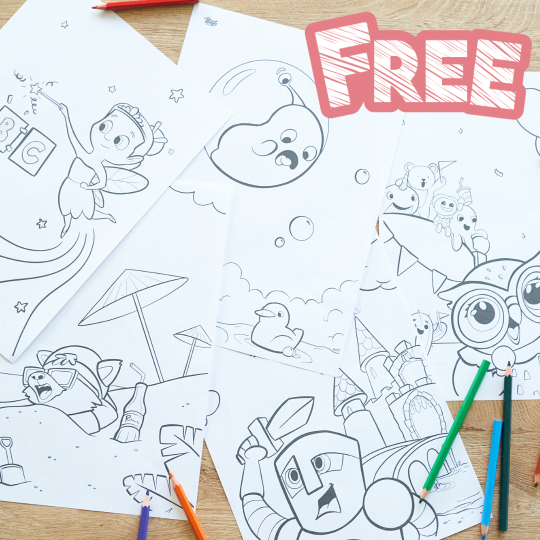 Free Personalized Printables From Hooray Heroes Hooray Heroes Personalized Coloring Book Hooray Heroes Craft Activities For Kids