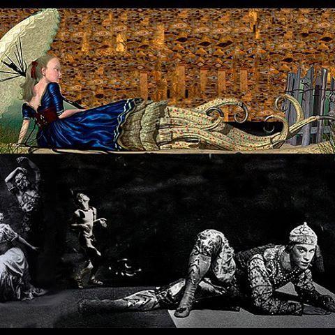 #Orientalism of #raycaesar #klimpt #nijinsky