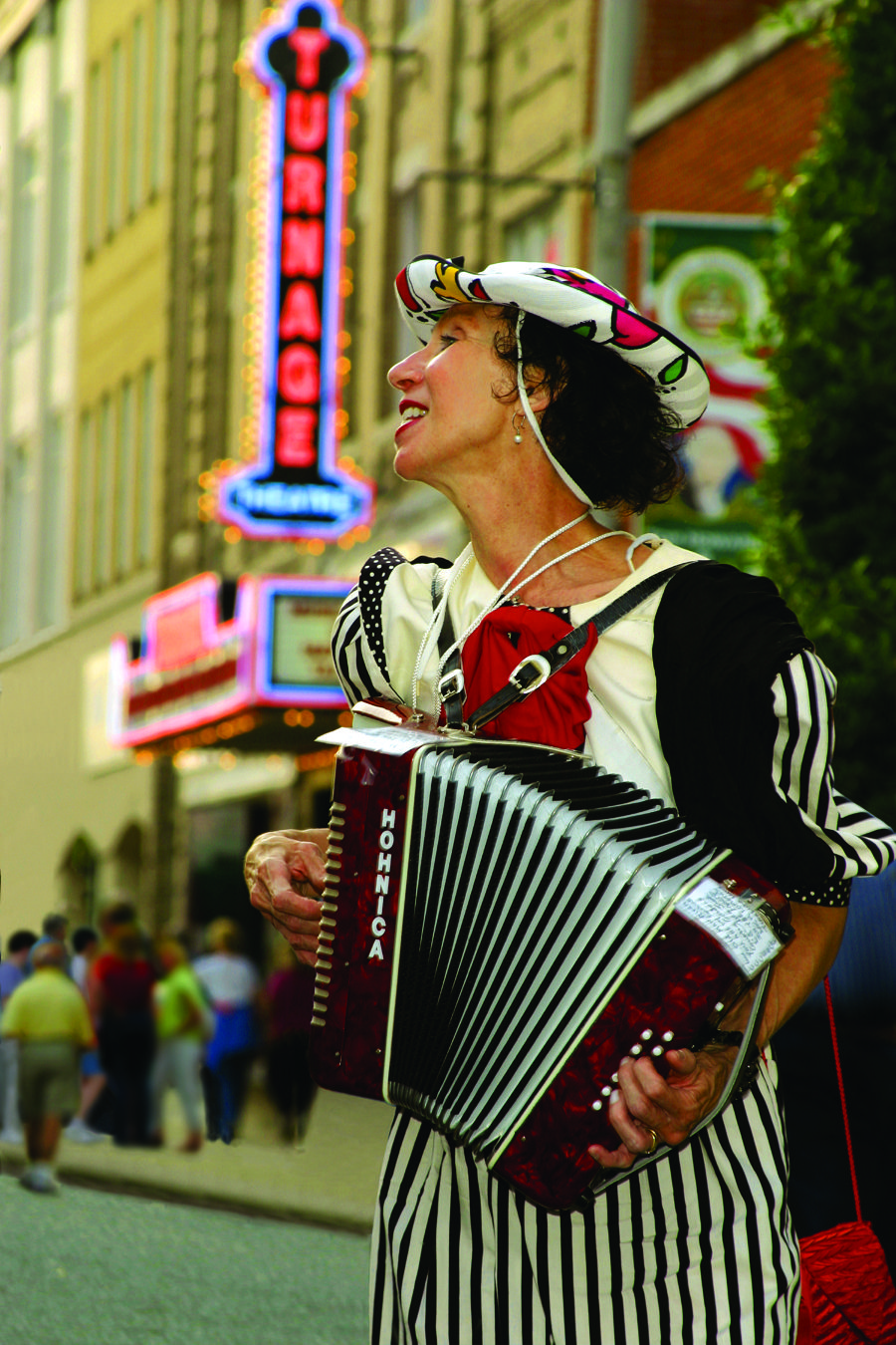 Music in the Streets on the 3rd Friday of each month, April through October.