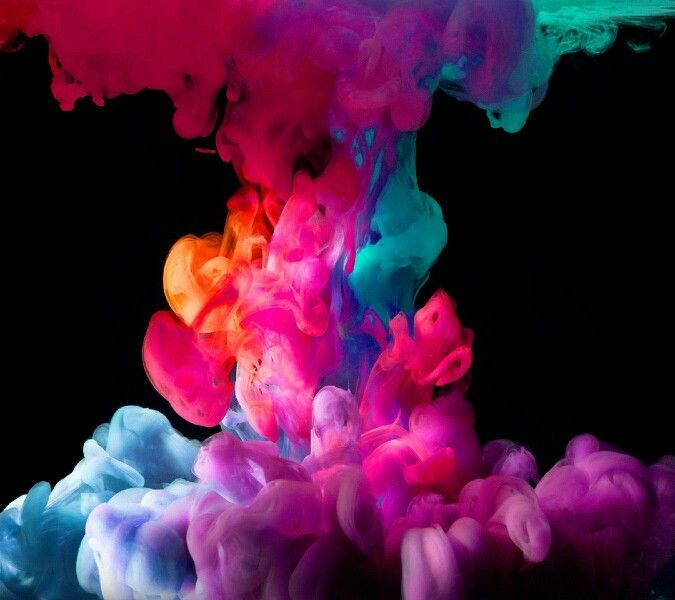 Colorful Iphone Wallpaper: Colorful Smoke