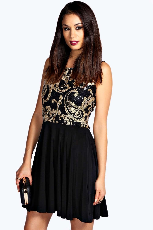 Sequin Top Dress