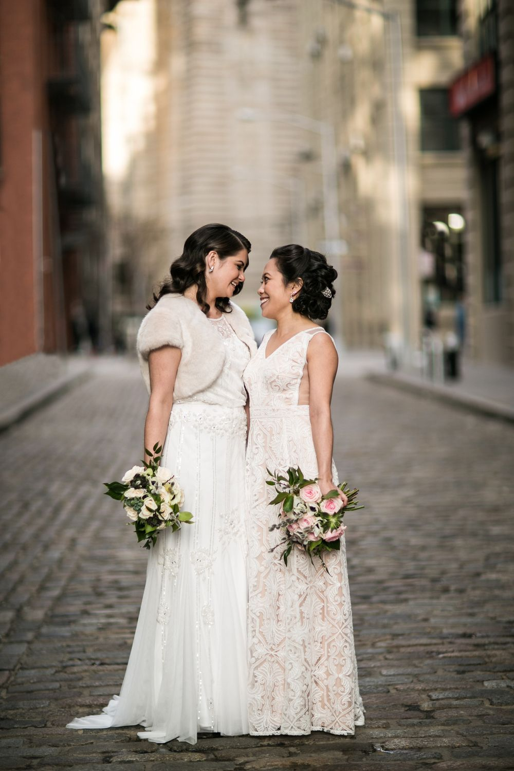 Real Couples An Intimate Love Filled Brooklyn Wedding Kat