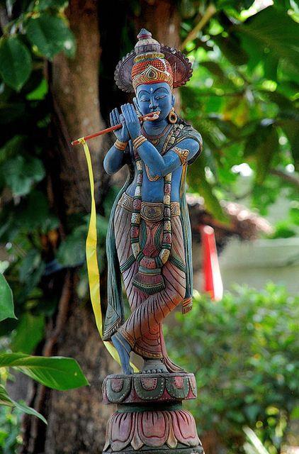 Krishna Garden Statue