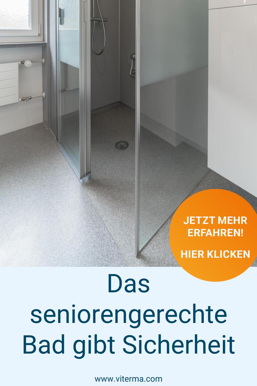 Das Seniorengerechte Bad Gibt Sicherheit In 2020 Bad Einrichten Bad Barrierefrei Bad