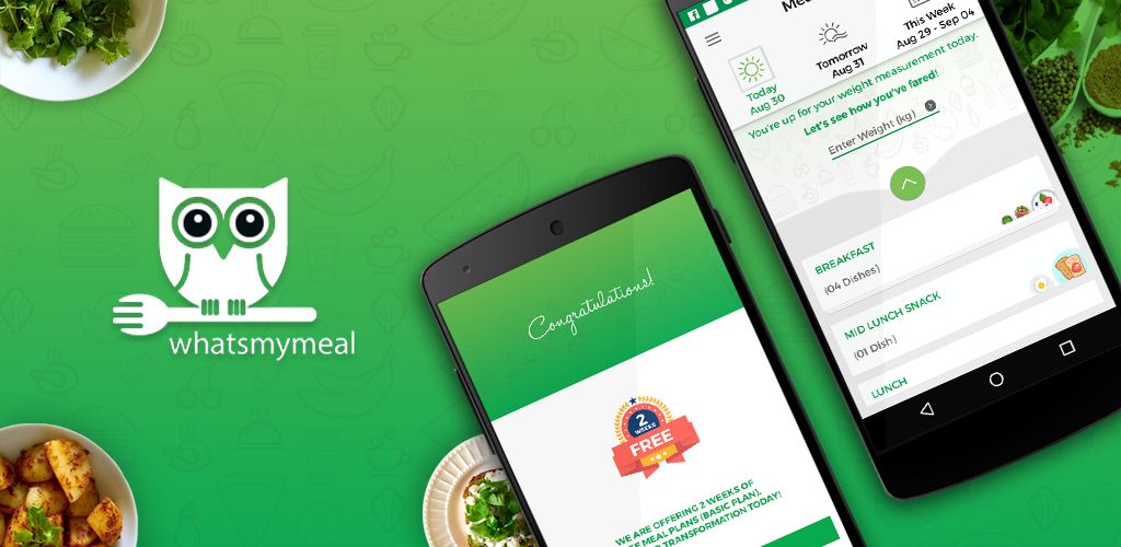 We are very excited to announce the launch of whatsmymeal app!  Download the app from App store or Google play store (iOS & Android). www.whatsmymeal.com  #dietapp #fitness #health