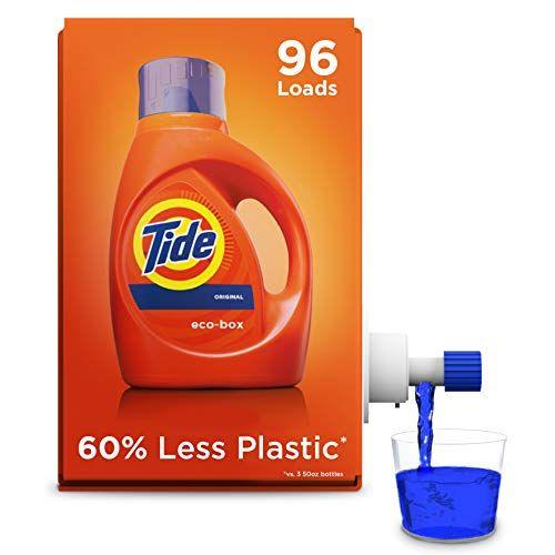 Tide Laundry Detergent Liquid Eco Box He Compatible 96 Loads Now