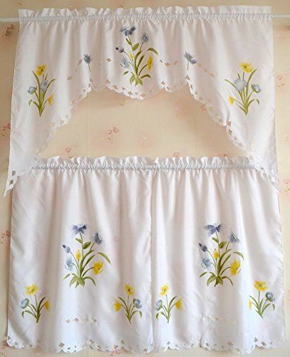 Kitchen Curtains At Big Lots: Pin By *~Lori~* On *~The Yellow And Blue Cottage