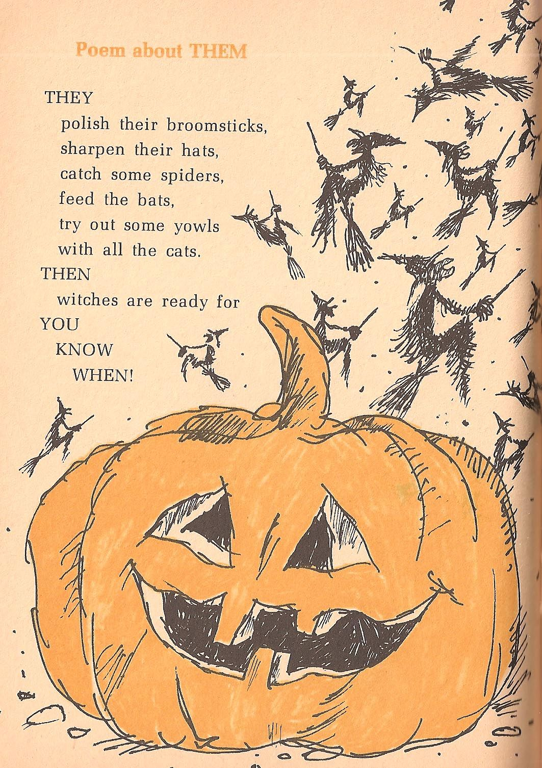 witch poems for halloween   The Haunted Closet: Spooky Rhymes and ...