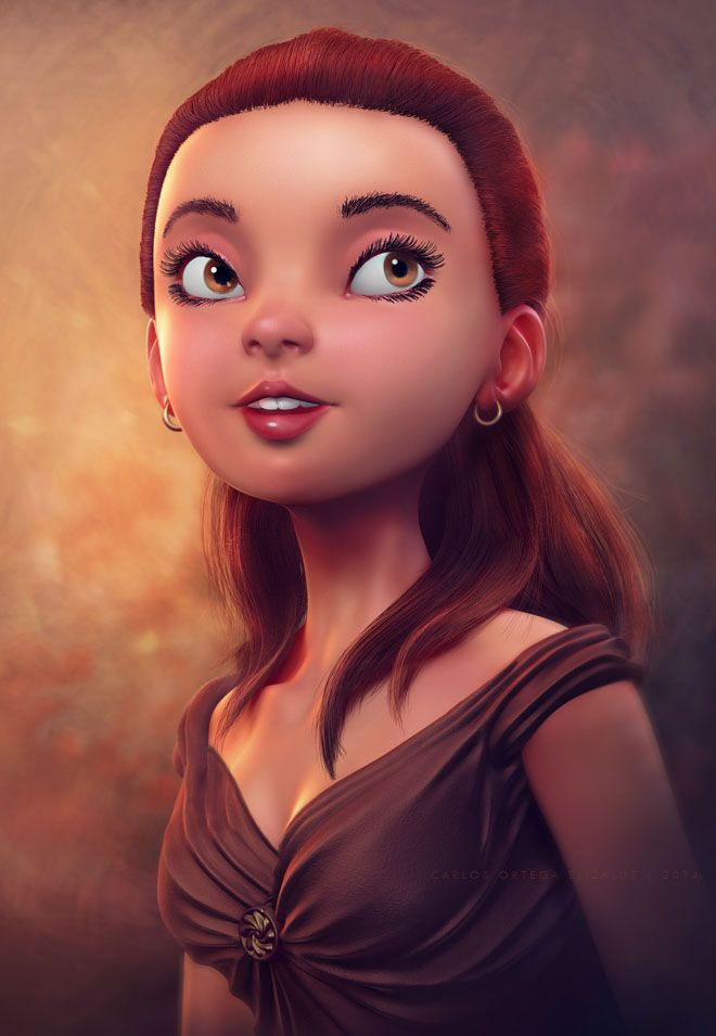 3D Models and Character designs by Carlos Ortega