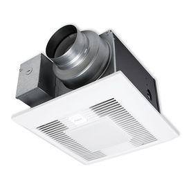 Panasonic Whispergreen Select 0 4 Sone 110 Cfm White Bathroom Fan