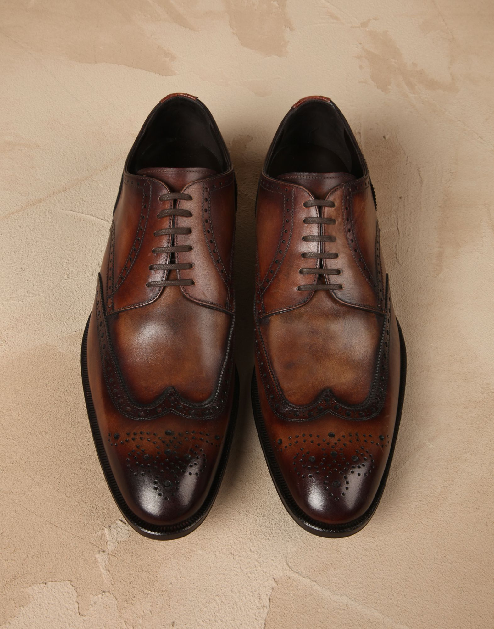 Calfskin portofino derby shoes Men - Dolce&Gabbana