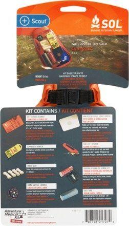 SOL Scout Survival Kit #wintersurvivalsupplies SOL Scout Survival Kit #wintersurvivalsupplies