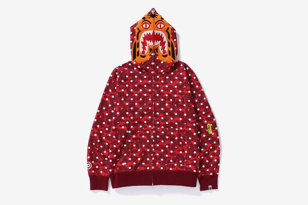 0e76f67b BAPE ABC Dot Tiger Full Zip Hoodie   Fashion   Hoodies, Full zip ...