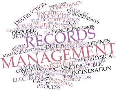 Why Use Records Management Solutions for Your Business Records - medical records manager job description