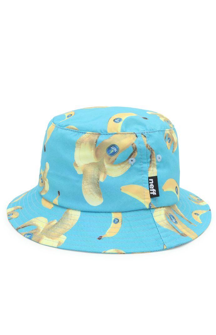 e19c867b55f099 Neff Bananas Bucket Hat | Hats for men in 2019 | Hats, Designer ...