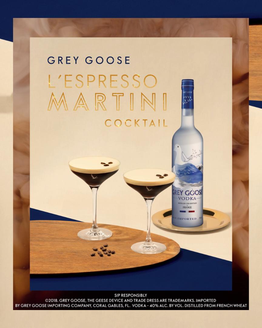 Save The Best Celebration For Last With The Grey Goose Espresso Martini Cocktail Video Grey Goose Vodka Vodka Grey Goose