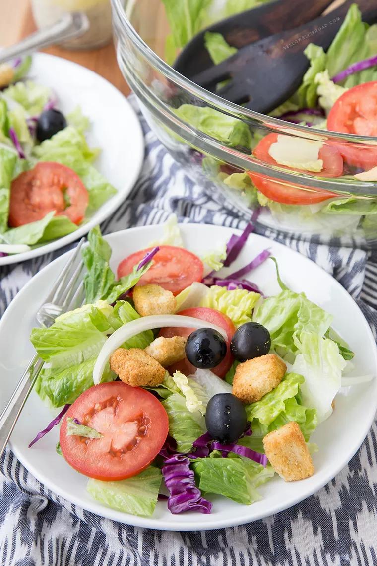 Easy Olive Garden Salad Copycat