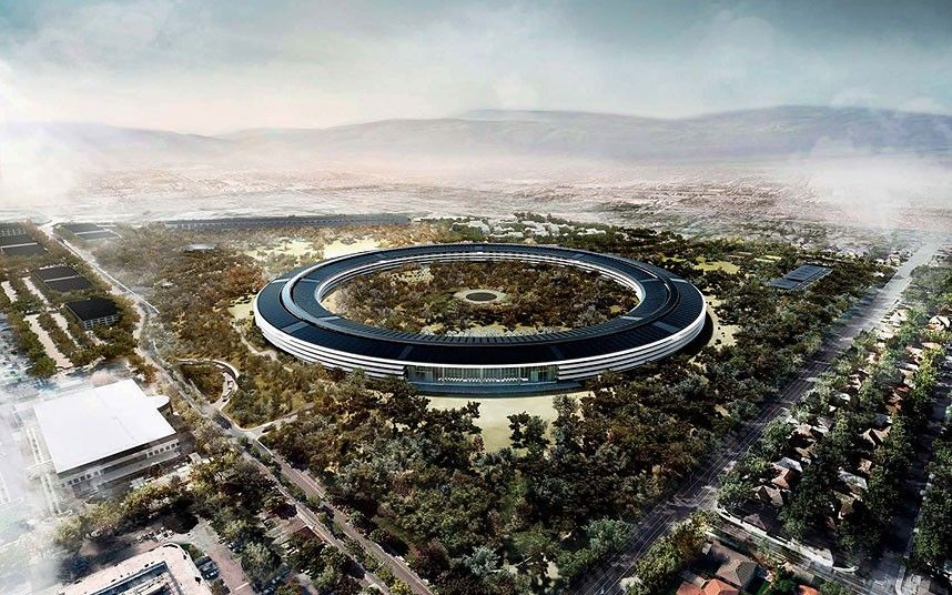 Apple Office | Apple Park Inside Apple S New Spaceship Campus In Pictures