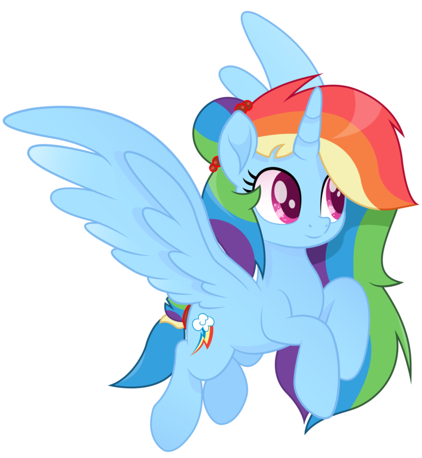 Princess Rainbow Dash Vector Moviestyle By Joemasterpencil My