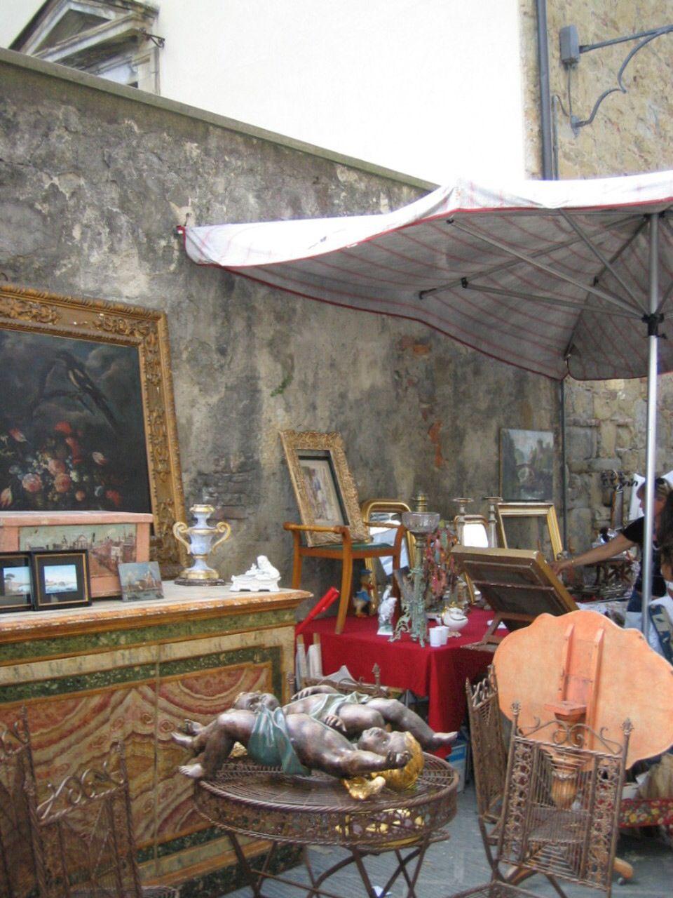 Jumble Sale Arezzo Italy