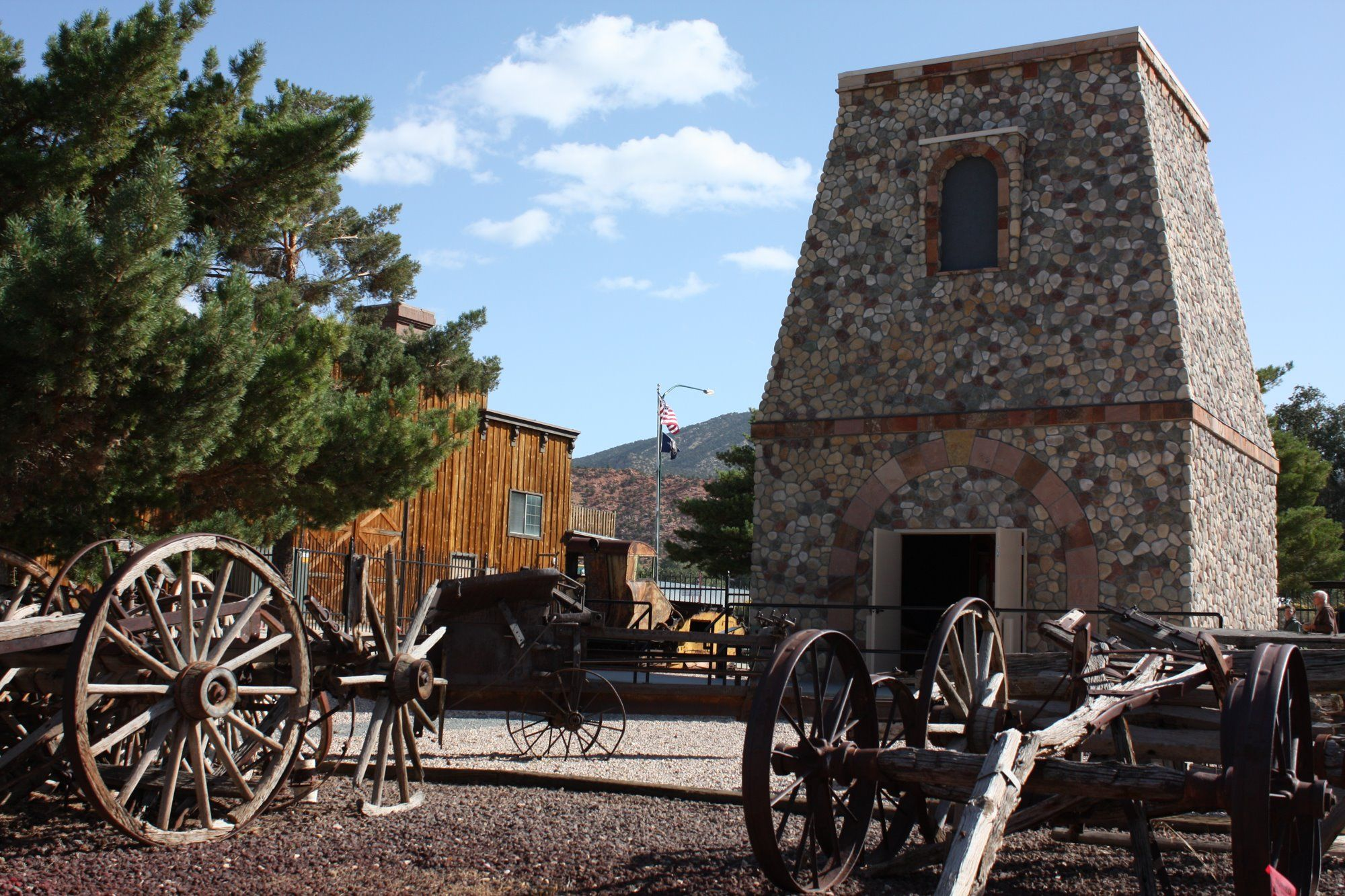 A confluence of pioneer and native american heritage