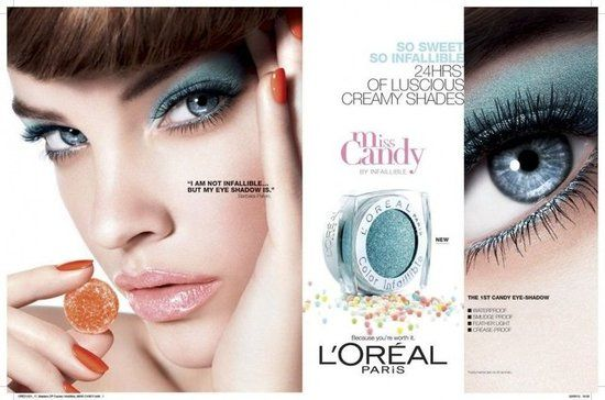 Hungarian TopSweet Barbara Palvin is so ''infallible''. L'Oréal Miss Candy Spring 2012 / Photographer: Kenneth Willardt