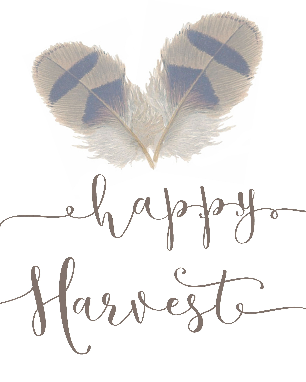 Happy Harvest Printable 23 Free Printables