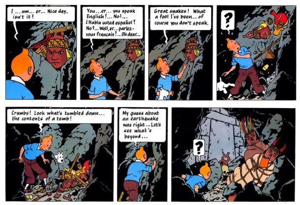 Tintin Prisoners of the Sun by Herge | TinTin | Tintin ...