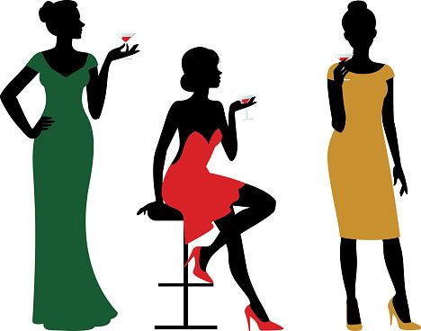 All became Sexy girls silhouette clip art essence