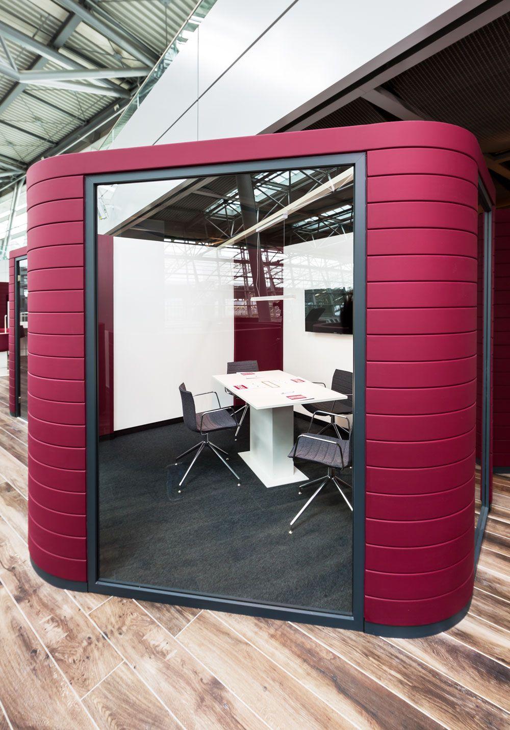 Box_Konferenzcenter Flughafen Düsseldorf, Design by Kitzig