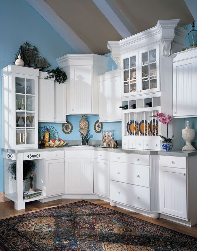 White Kitchen, Plate Separation, And Spice Drawers. Kitchen Design Group In  Shreveport, LA Is An Authorized Dealer Of Quality Cabinets.
