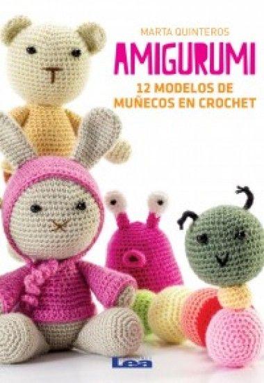 Isadora Libros :: Amigurumi - 12 modelos de muñecos en crochet(Marta ...