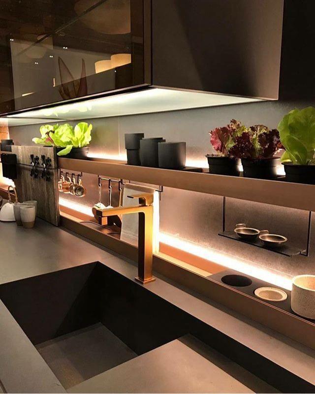 Cocina de la colecci n attico estilo sobrio con detalles for Muebles de cocina montevideo